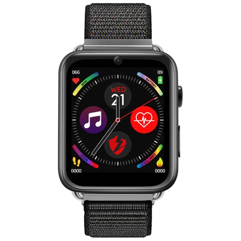 DM20 Smartwatch Black Nylon Myphonewatch